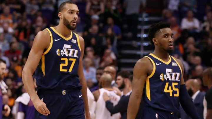 Jazz VP says stars Mitchell and Gobert are ready to put rift behind them