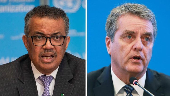 Joint statement by WTO Director-General Roberto Azevêdo and WHO Director-General Tedros Adhanom Ghebreyesus