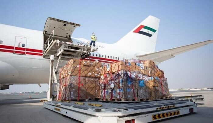 Plane carrying WHO trauma and surgical supplies arrives in Beirut, Lebanon