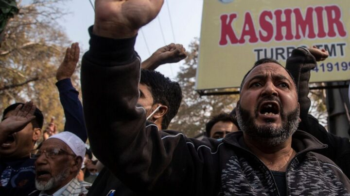 Shutdown in Kashmir protests India's new land laws