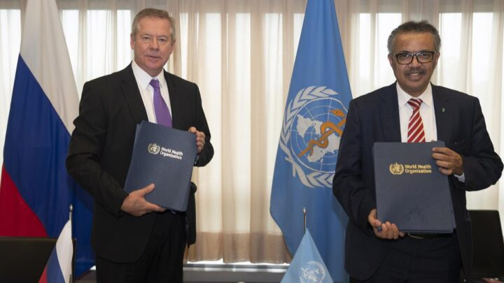 The Russian Federation steps up support to WHO for global health security and noncommunicable diseases