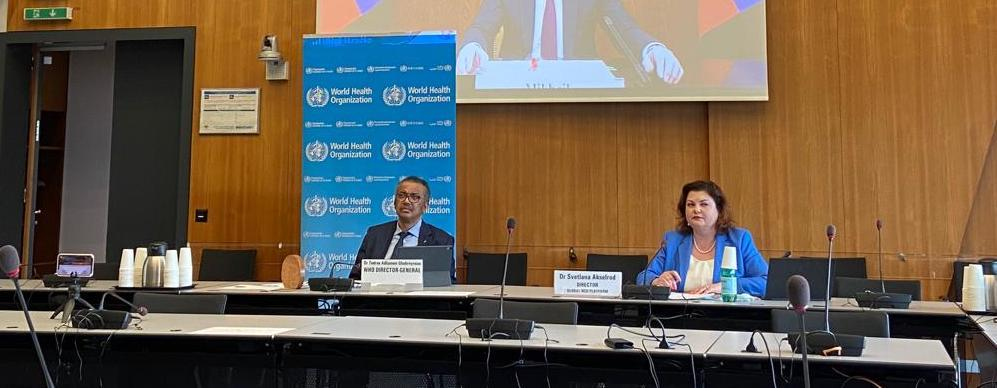 """Sixth Annual meeting of the """"Friends of the Task Force"""" Working with Member States to deliver the NCD-related SDG targets during and beyond COVID-19"""