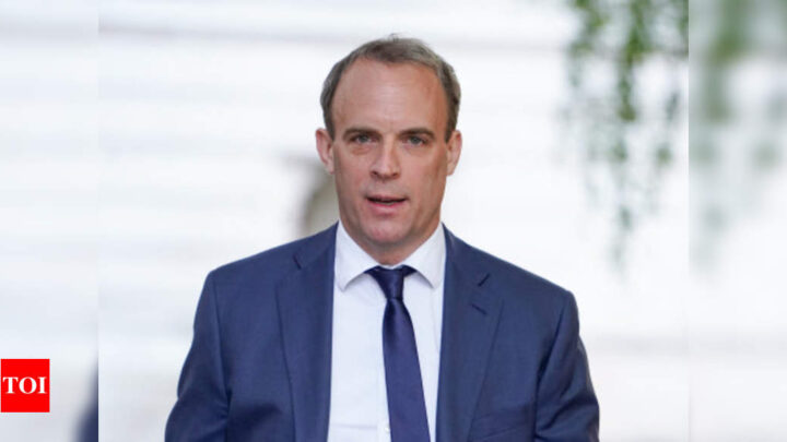 UK's Dominic Raab says next week will be very significant for Brexit deal