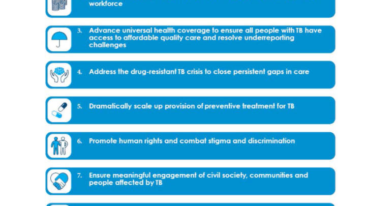 UN Secretary-General outlines priority recommendations to accelerate the TB response and reach targets