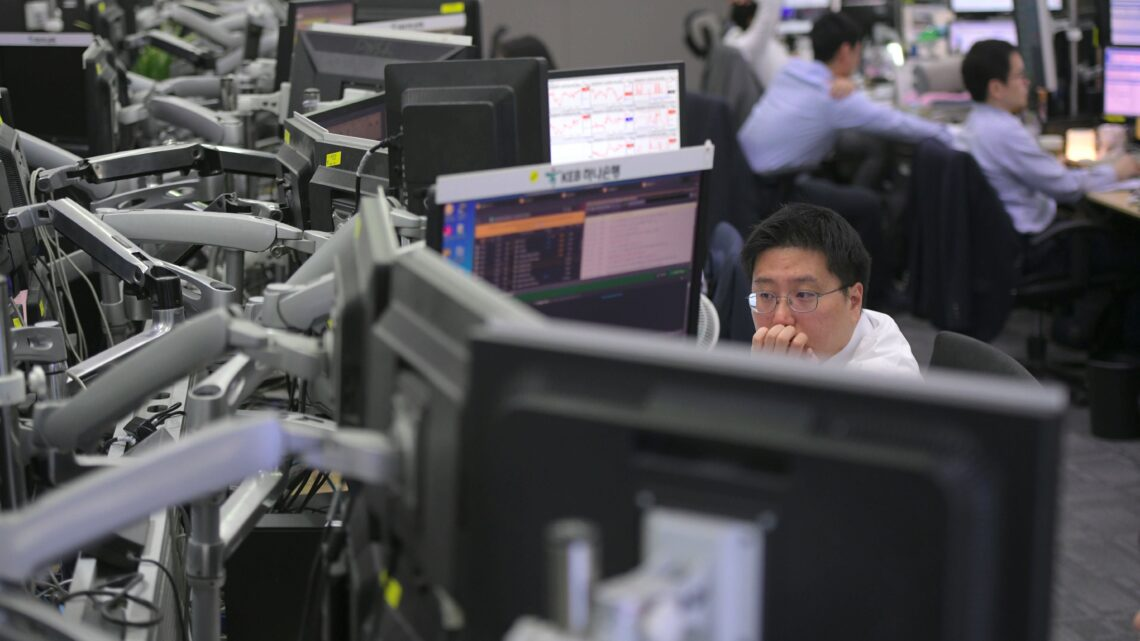 Asia-Pacific stocks lower; China's benchmark lending rate release ahead