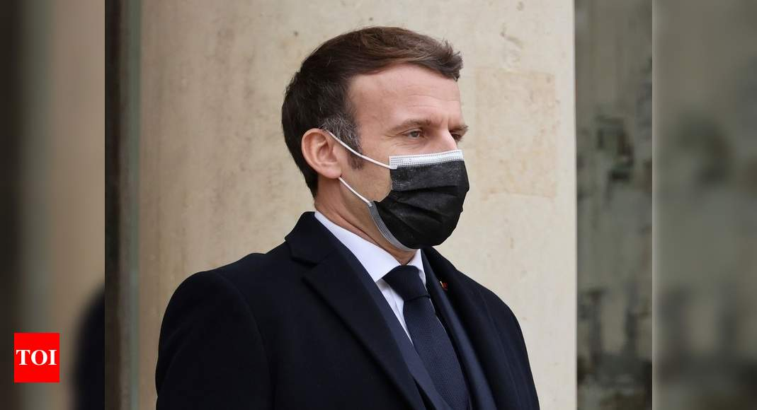 France's Macron blames his Covid-19 on negligence, bad luck