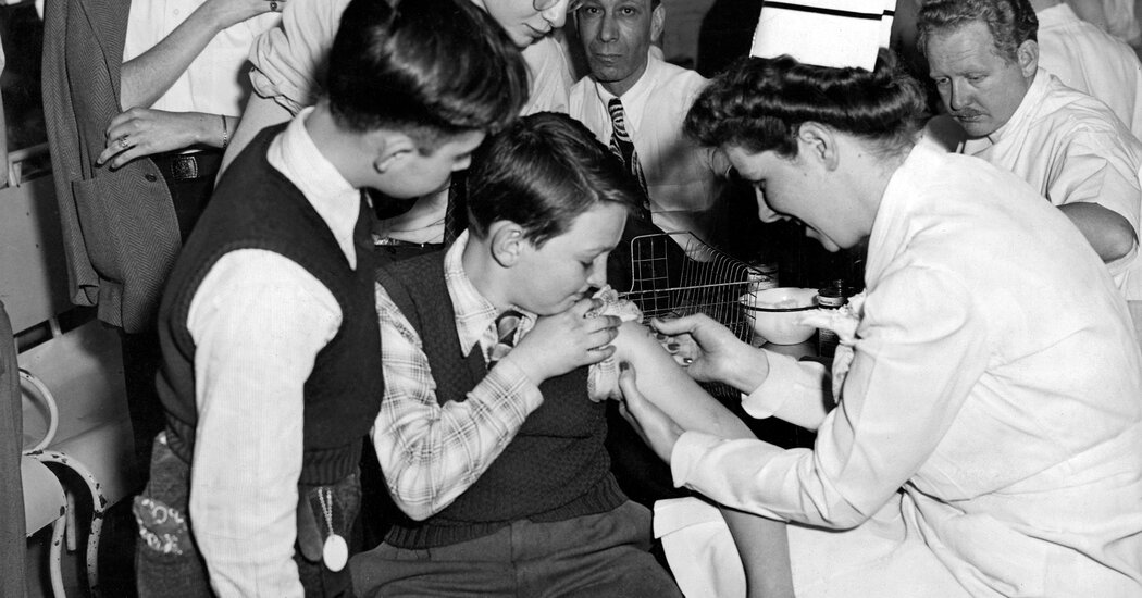 New York City vaccinated six million people in less than a month. In 1947.