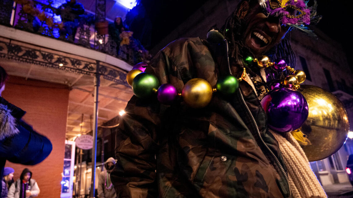 Muted Mardi Gras goes ahead without parade, bars