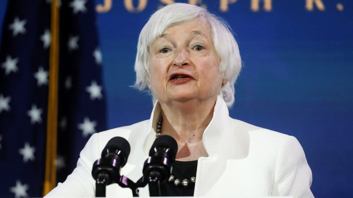Stocks rise after Yellen calls for more stimulus