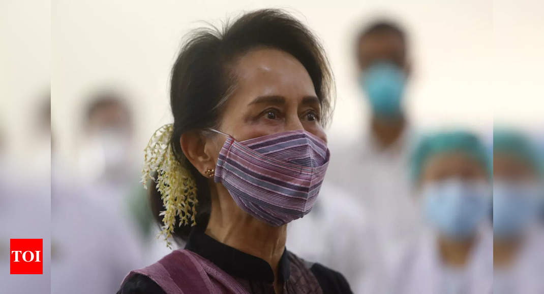 Aung San Suu Kyi detained by Myanmar army: Party spokesman | India News