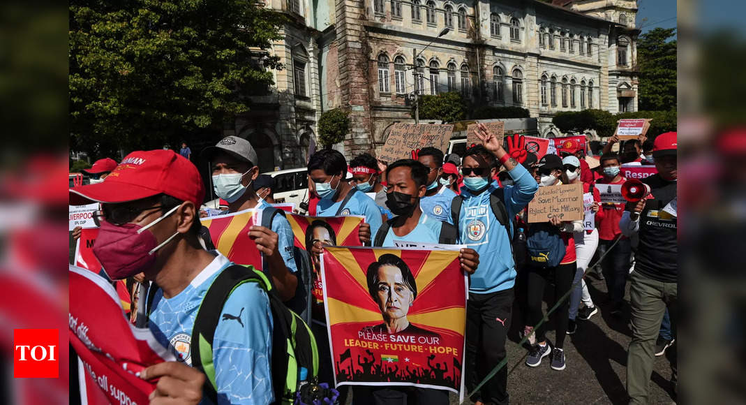 Myanmar coup opponents call for new show of force