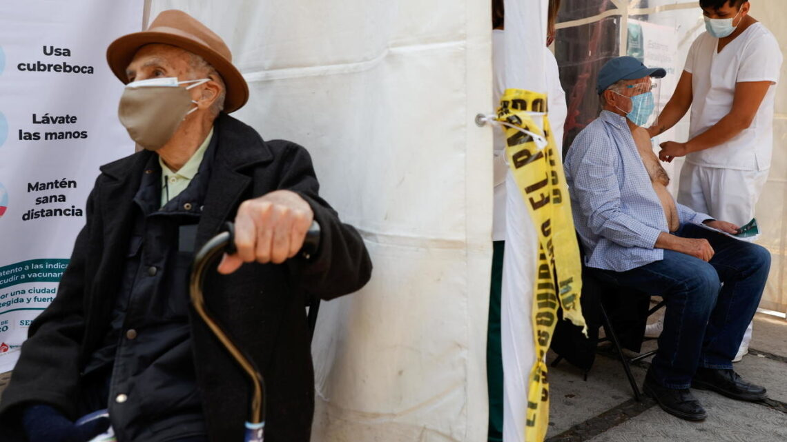 Mexico begins vaccinating elderly against Covid-19