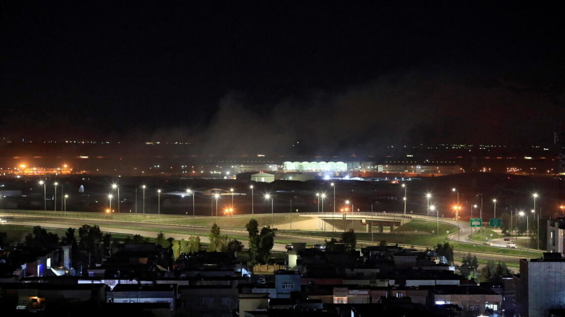 Deadly rocket attack at US-led military base in Kurdish northern Iraq