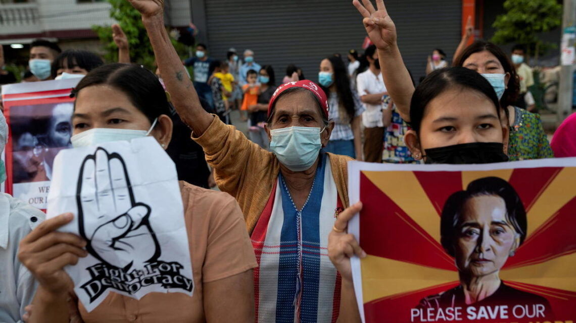 Myanmar protesters call for more rallies to 'take down the dictators'
