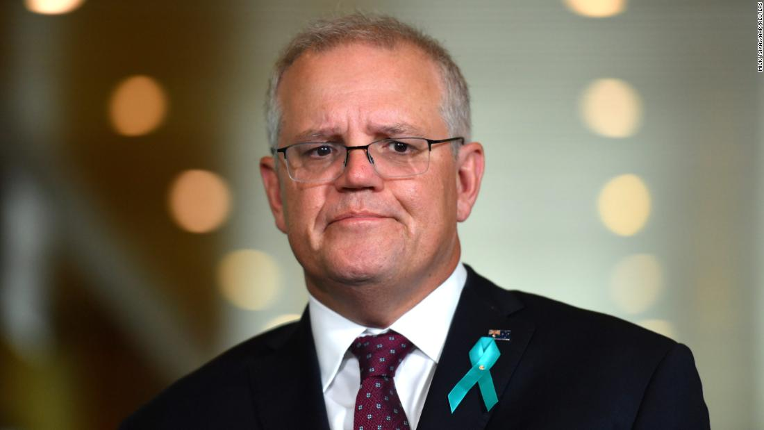 Australia PM Scott Morrison apologizes to former staffer Brittany Higgins allegedly raped in Parliament office