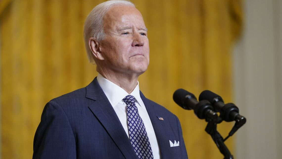 Biden: 'I welcome' competition with China; U.S. and Europe will win