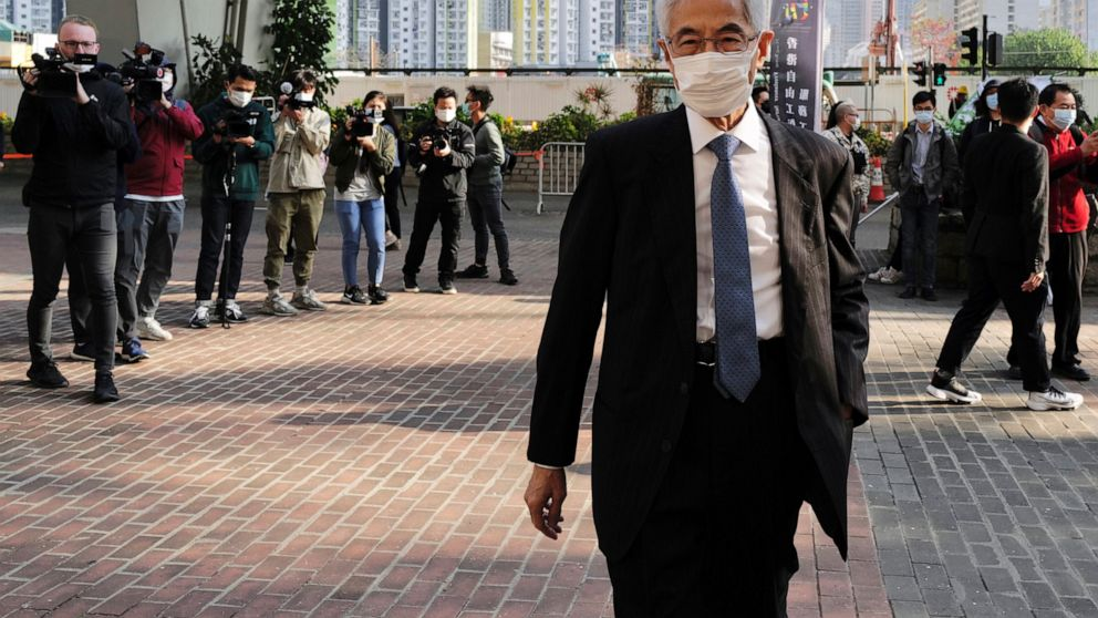 Two plead guilty as leading Hong Kong activists go on trial