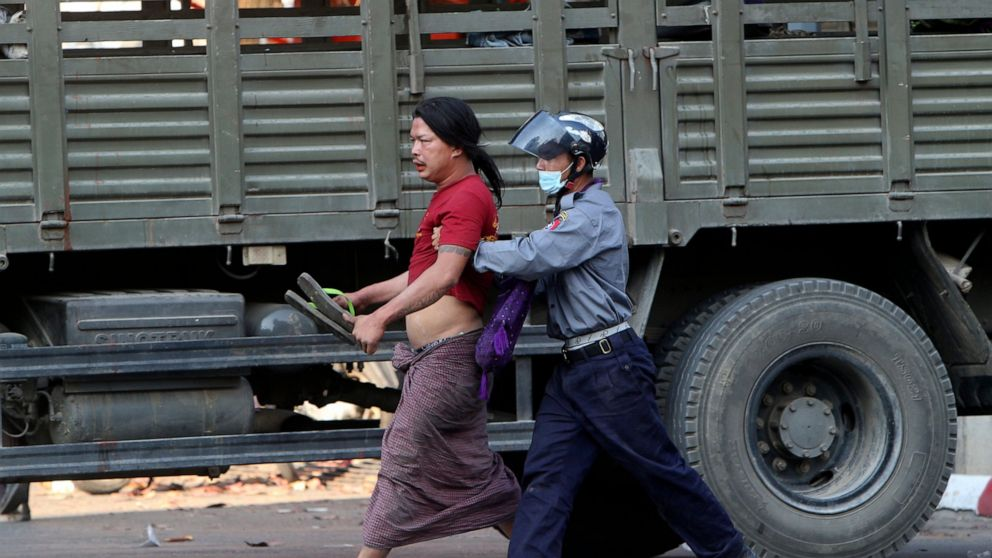 Myanmar security forces intensify crackdown on protesters