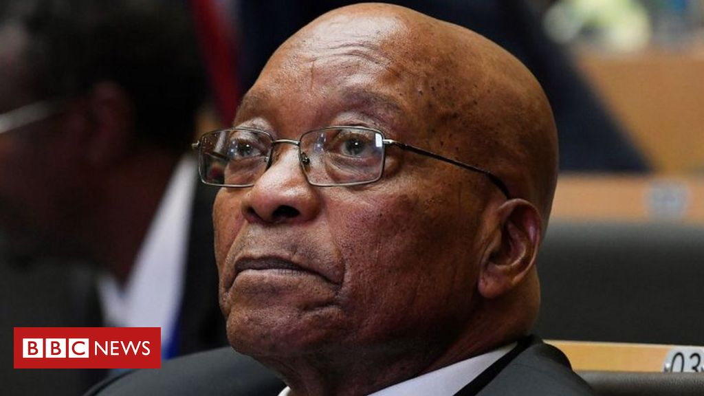 South Africa's Jacob Zuma in 'contempt of court', says judge