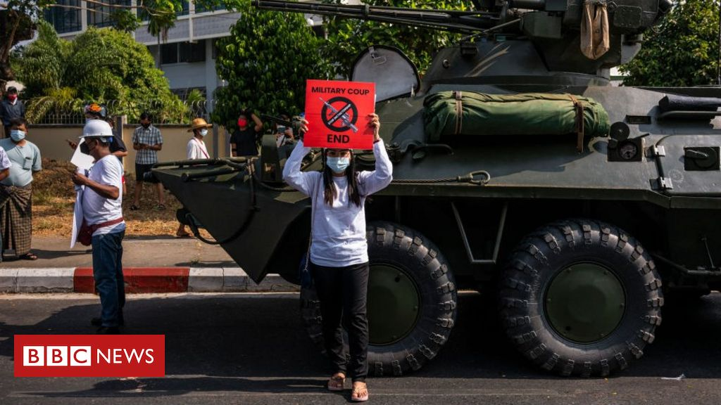 Myanmar coup: Military takes country offline for second night