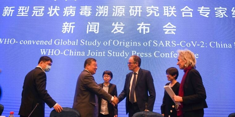 China refused to hand over key data to WHO team probing pandemic's origin : worldnews