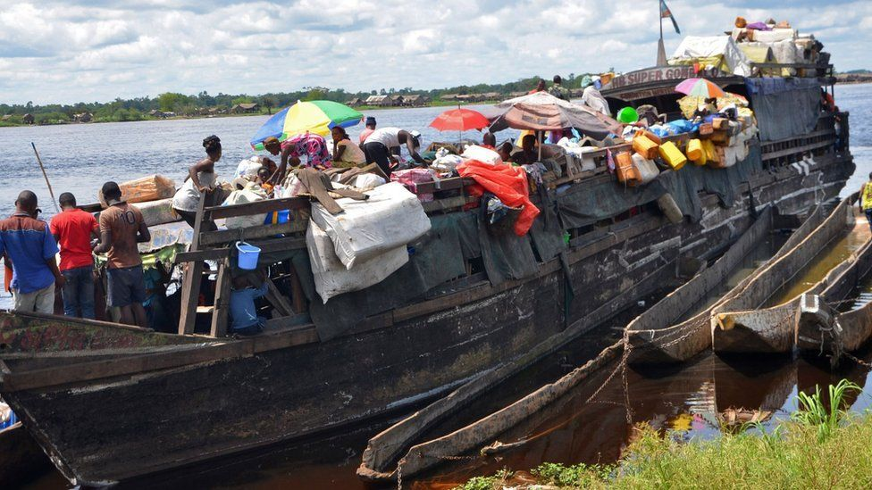 At least 60 drowned after boat capsizes