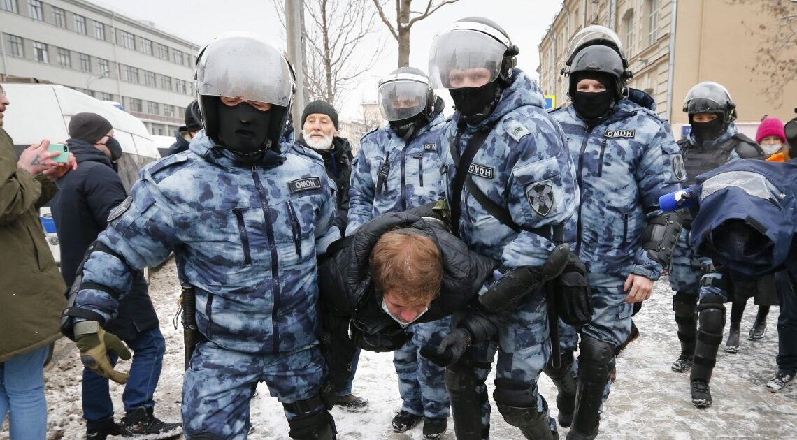 Russia arrests 5,000 during protests backing Alexei Navalny
