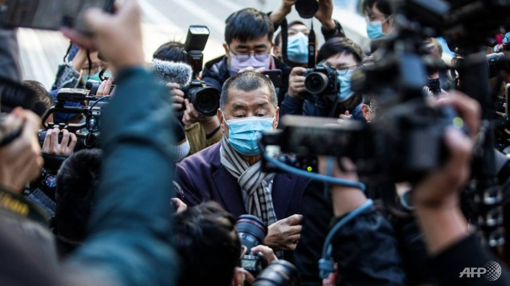 Hong Kong tycoon Jimmy Lai in landmark challenge to security law