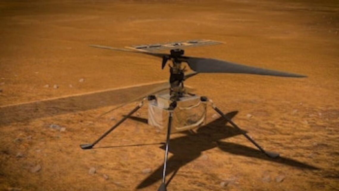 For The Very First Time NASA Wants To Fly A Helicopter On Mars