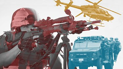 Have US police departments become too militarised?