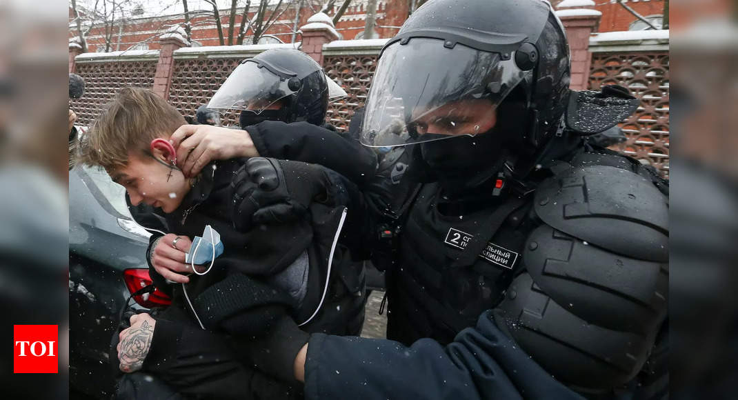 Russia arrests over 4,700 at wide protests backing opposition leader Alexei Navalny