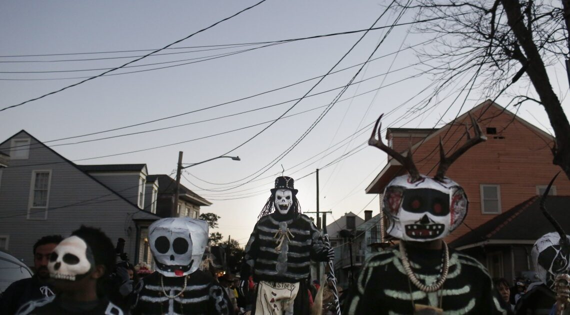 'A little bit of me wants to cry.' In New Orleans' Black areas, a muted Mardi Gras