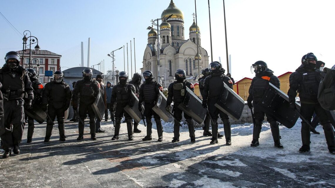 Over 5,100 arrested at pro-Navalny protests across Russia