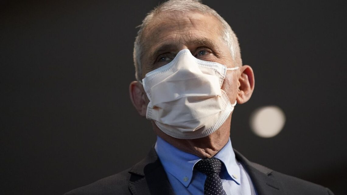 Anthony Fauci wins $1 million Dan David Prize for 'defending science'